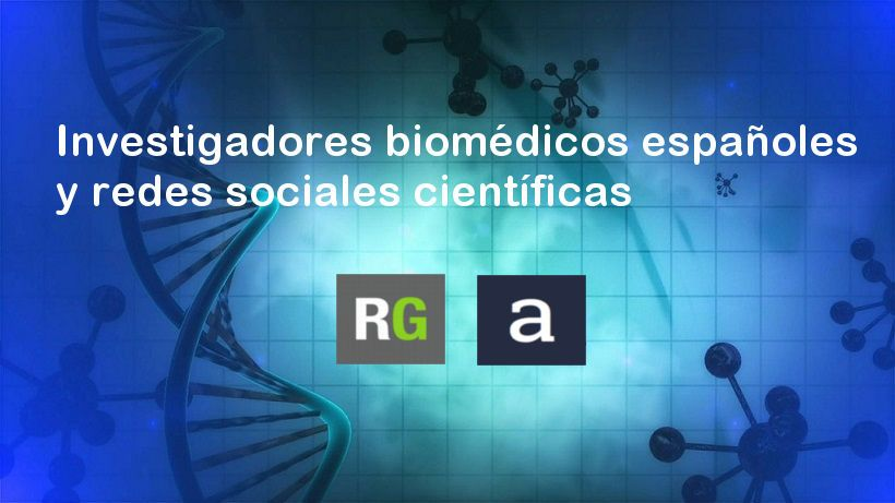 Biomédicos y redes sociales científicas