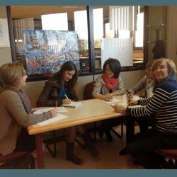Charla sobre biblioteca universitaria