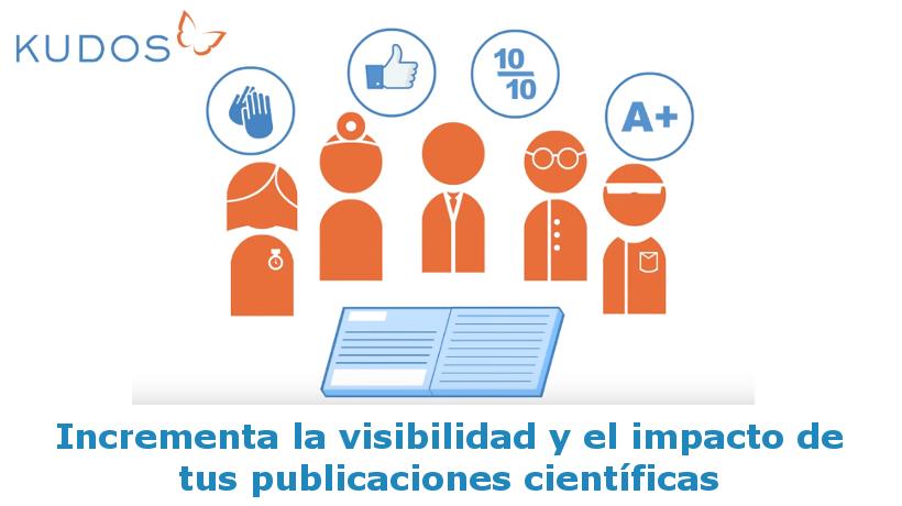 Kudos - Impacto publicaciones científicas