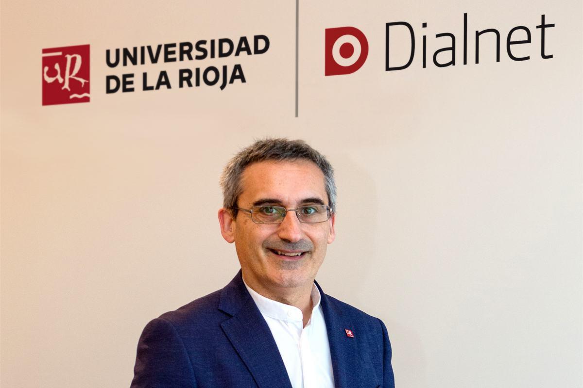 Julio Rubio García, rector de la Universidad de La Rioja