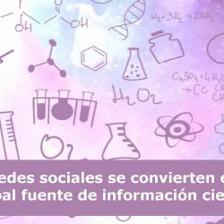 redes sociales información científica