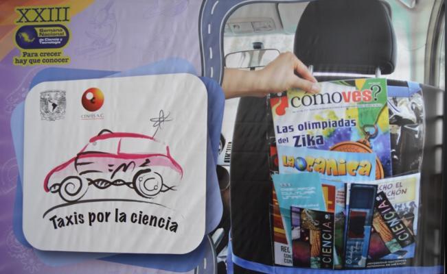 Taxis por la ciencia en México