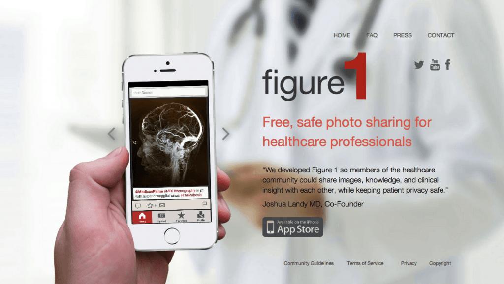 Figure 1, red social temática para médicos