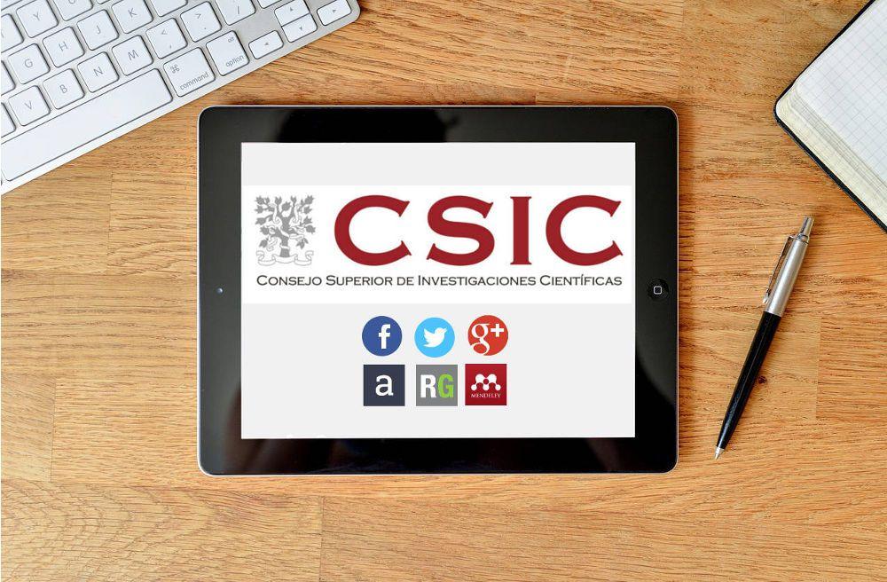 CSIC: cómo utiliza las redes sociales