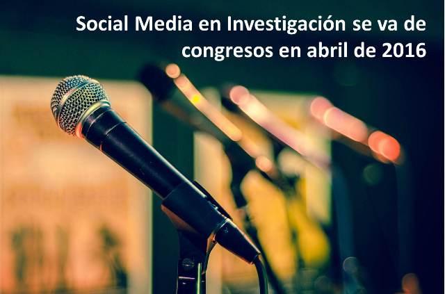 Congresos - Social Media en Investigación