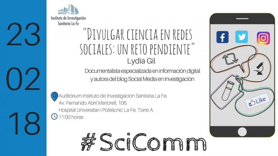 divulgar ciencia en redes sociales
