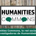 Humanities Commons red social Humanidades