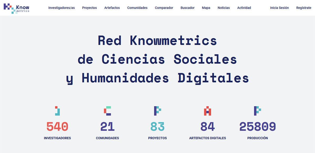 Knowmetrics red social